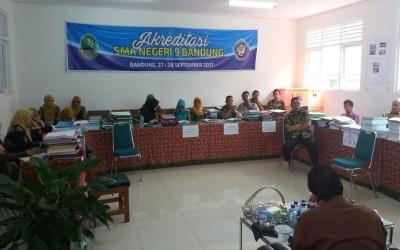 Akreditasi SMAN 9 Kota Bandung