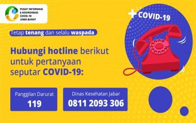 Harap Tenang dan Selalu Waspada   Pencegahan Covid 19